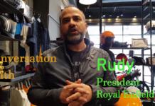 Rudy Interview Thunderbird X launch