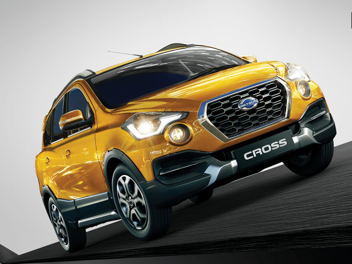 Upcoming Cars in India 2018 datsun go-cross Front