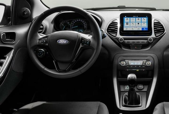 ford figo facelift interior profile
