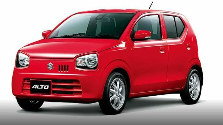 new maruti alto image front side