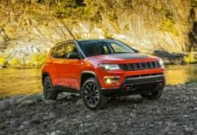 Jeep Compass Trailhawk launch
