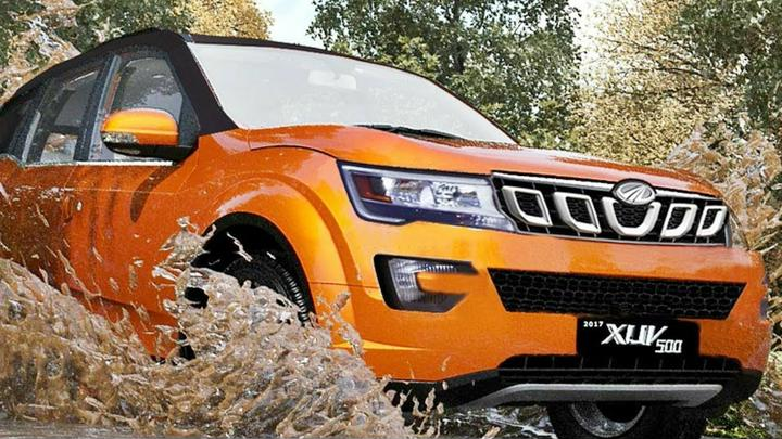 Mahindra XUV500 Facelift Completely Revealed In New Spy Images