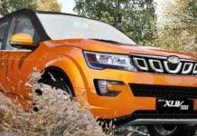 mahindra xuv500 facelift Front