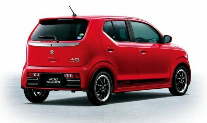 new maruti alto image rear side