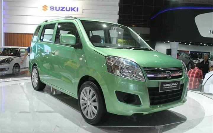 maruti wagon r 7-seater front profile
