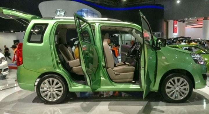 maruti wagon r 7-seater side profile