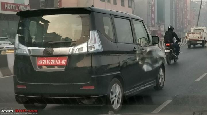 maruti wagon r 7-seater spy image profile