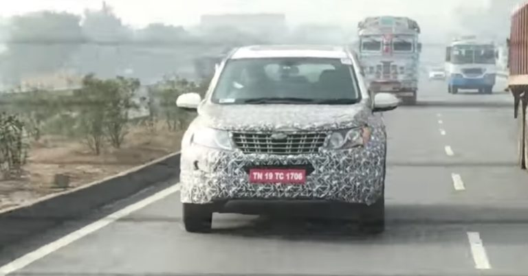 Mahindra XUV500 Facelift Launch Timeline Revealed- Report
