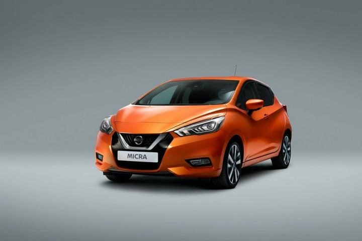 new nissan micra front profile