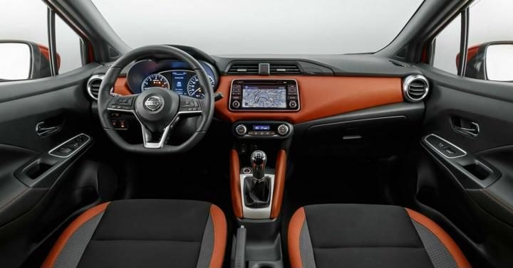 new nissan micra interior profile