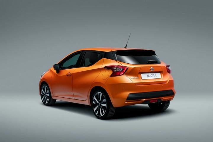 new nissan micra rear profile