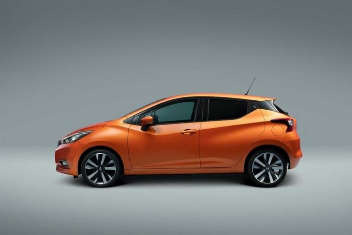 new nissan micra side profile
