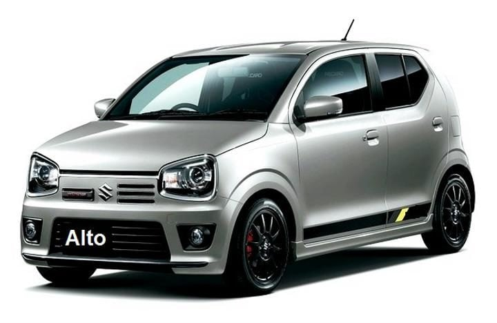 new maruti alto image side