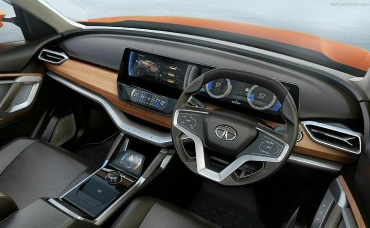 tata h5x concept interior profile