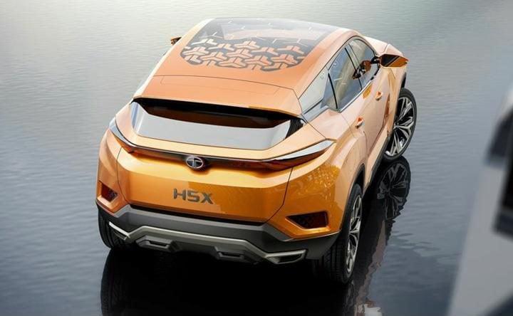 tata h5x concept rear profile