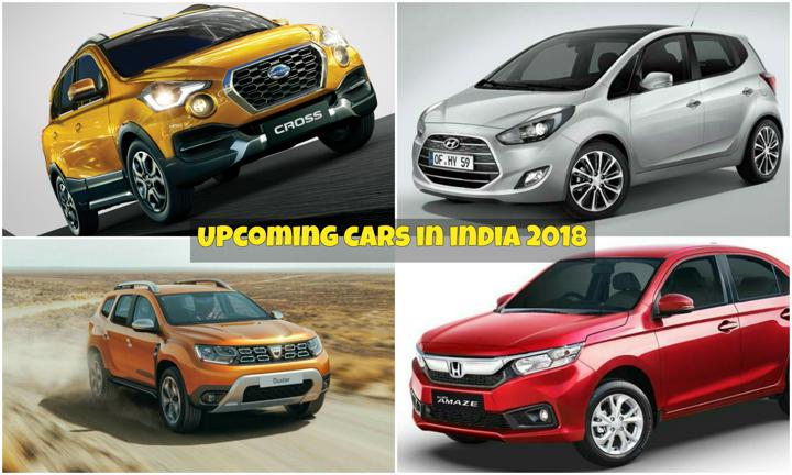 Upcoming Cars In India 2017 With Launch Date Price Pics: Upcoming Cars In India 2018: Complete List With Launch