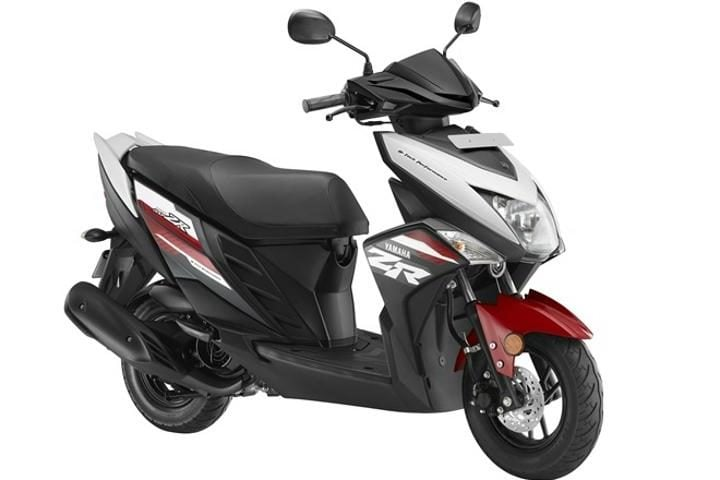 yamaha-ray-ZR Rooster Red