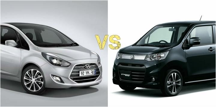 2018 hyundai santro vs new maruti wagon r image front