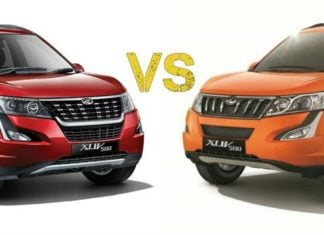 2018 mahindra xuv500 facelift vs old image main profile