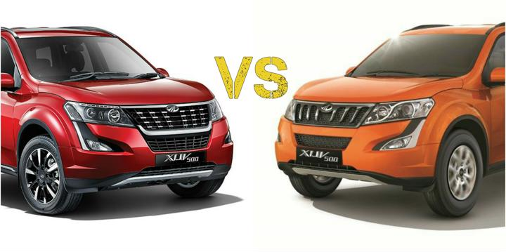 2018 Mahindra XUV 500 Facelift Vs Older Model- What's The Difference?