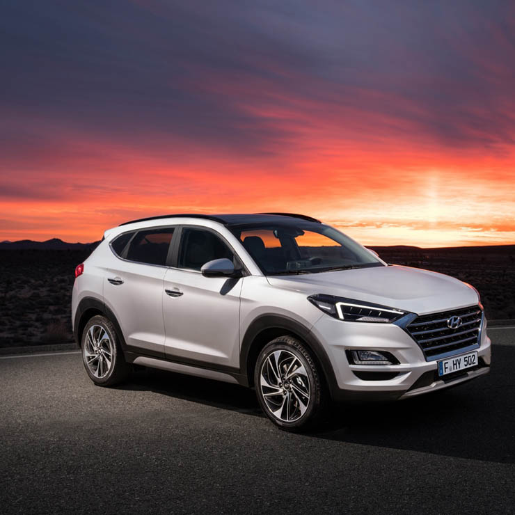India-Bound 2019 Hyundai Tucson Unveiled At NIAS 2018