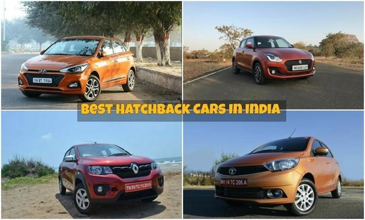 Best hatchback cars in india image list