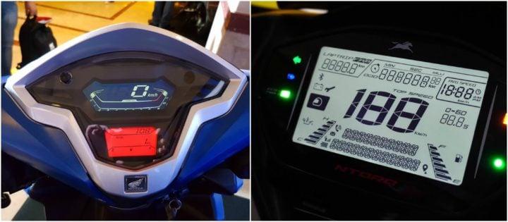 TVS Ntorq 125 Vs Honda Grazia