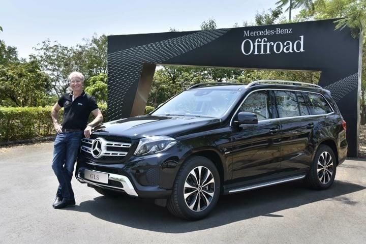Mercedes Benz GLS Grand Edition Front profile