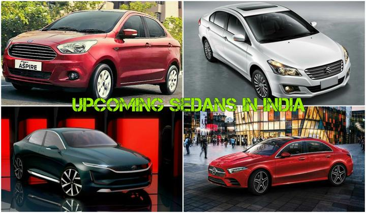 Upcoming Sedans In India: 2018 Ciaz, New Honda City, Aspire Facelift & More