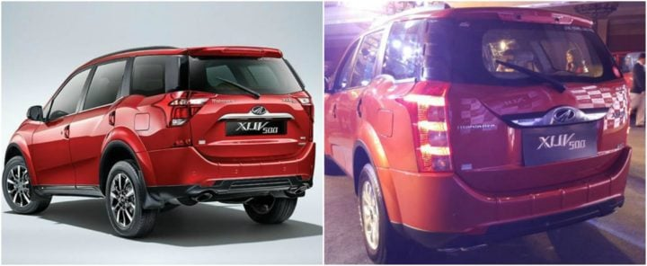 2018 Mahindra XUV 500 Facelift vs Old XUV 500