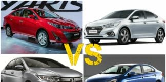 Yaris Vs Competition