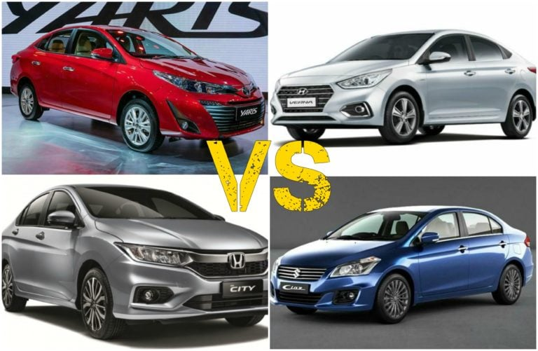 Toyota Yaris Vs Competition- Price Comparison