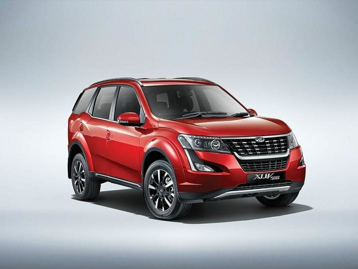 2018 Mahindra Xuv500 Facelift front cover profile