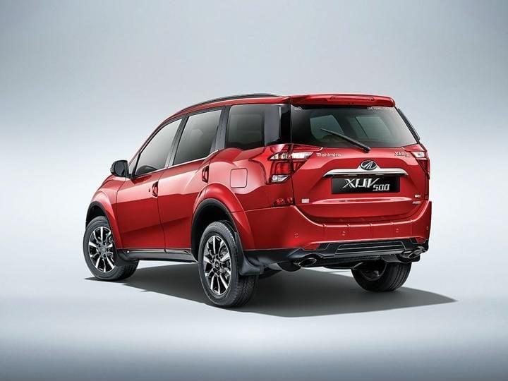 2018 Mahindra Xuv500 Facelift rear cover profile