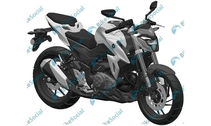 suzuki gixxer s300 front three fourth