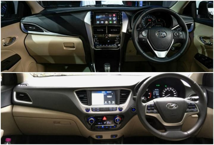 Toyota Yaris Vs Hyundai Verna - Specification Comparison