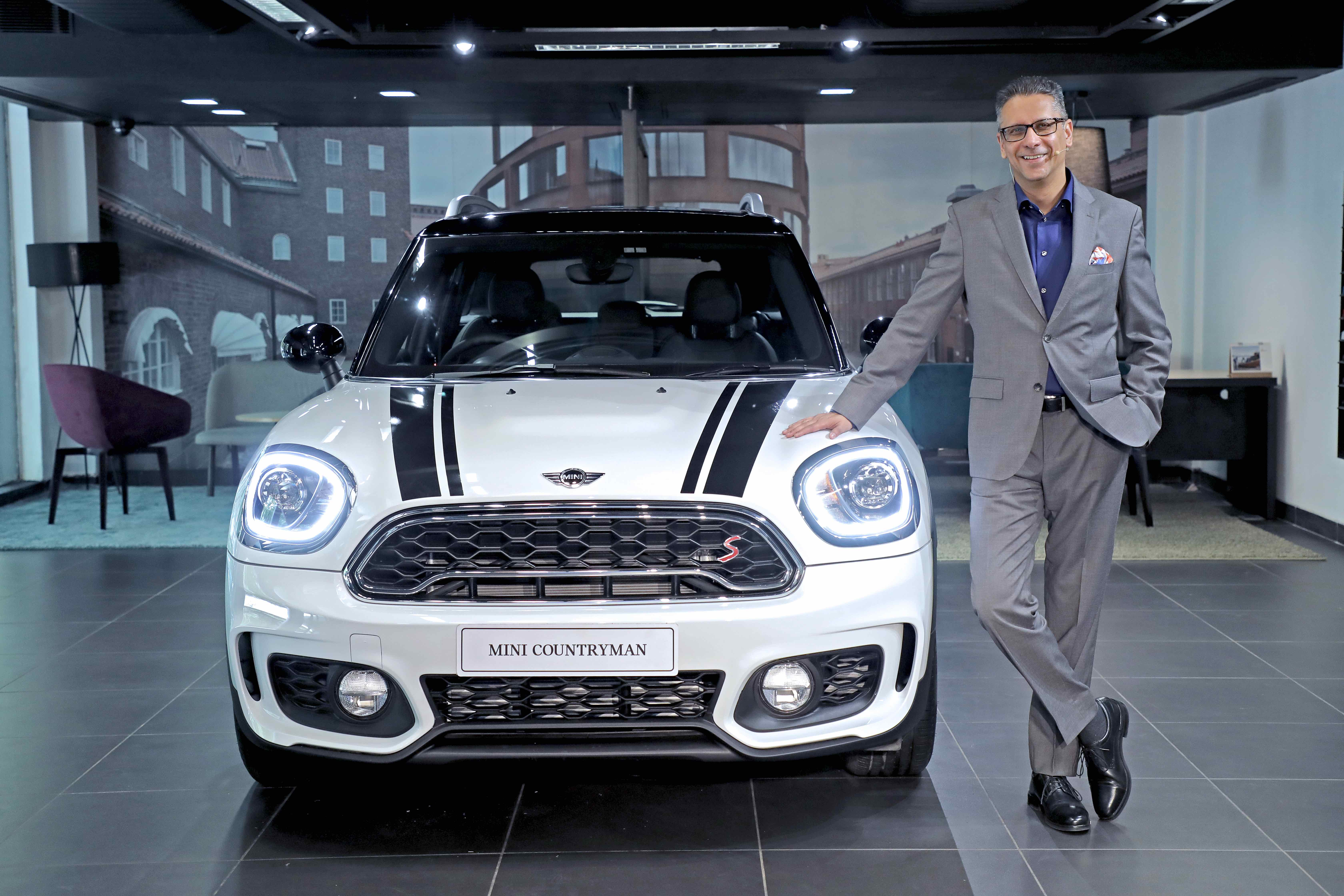 all-new mini countryman launched in india; priced at rs 35 lakhs