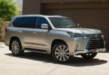 2016-Lexus-LX-570 exterior profile