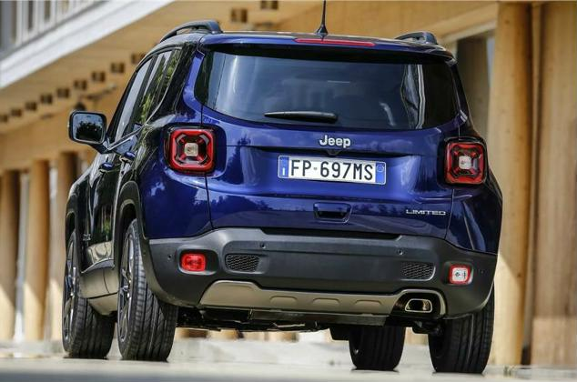 2018 jeep renegade exterior back image