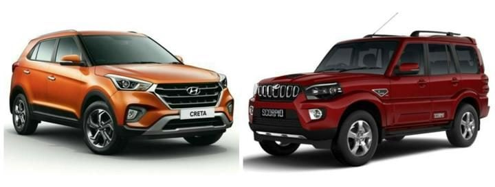 2018 Hyundai Creta facelift Vs Competition