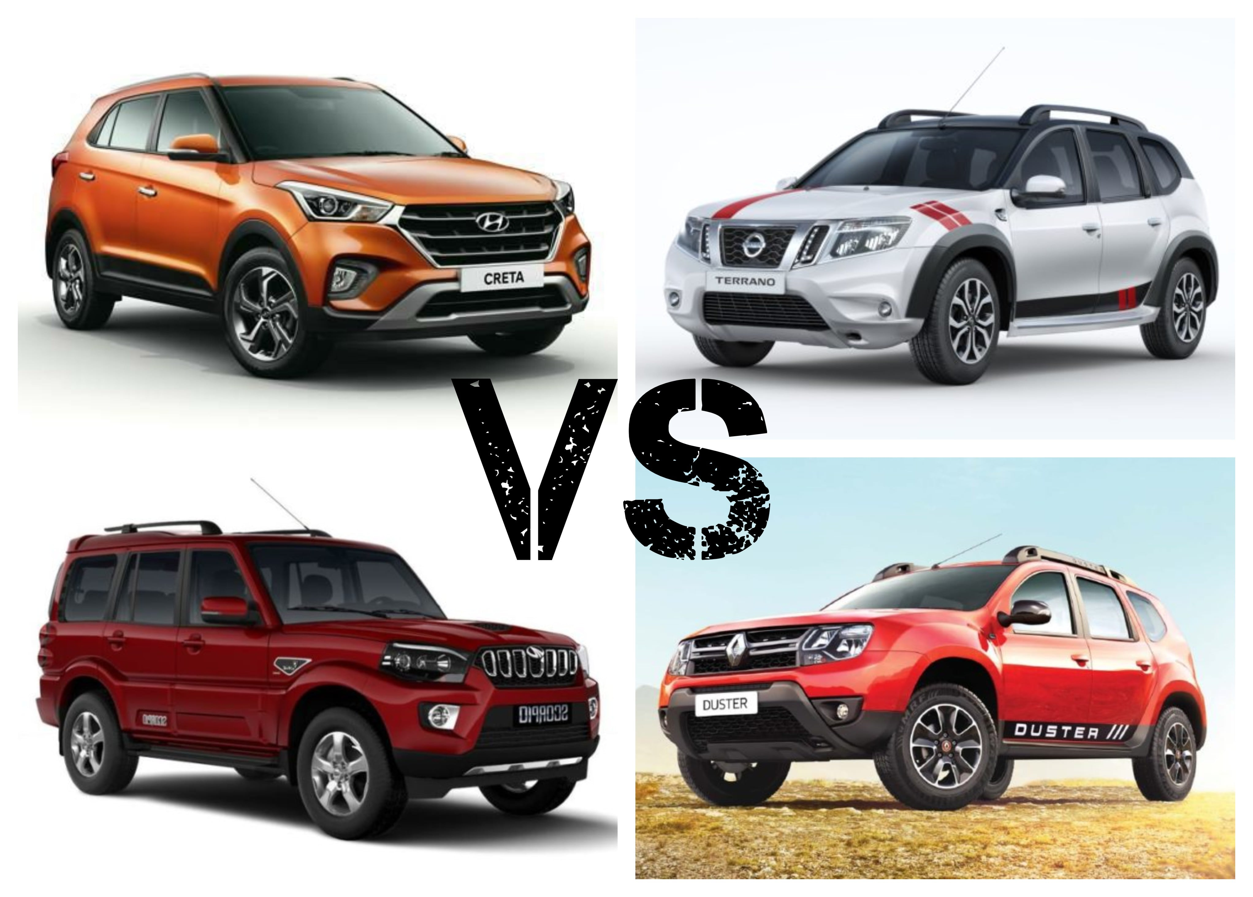2018 Hyundai Creta Facelift Vs Competition - Price Comparison