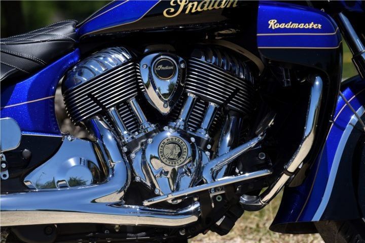 Indian Motorcycles Roadmaster elite