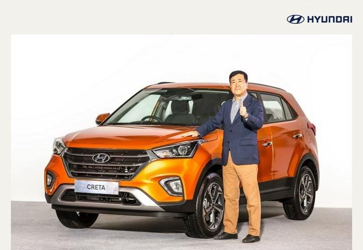 hyundai creta 2018 facelift exterior  profile