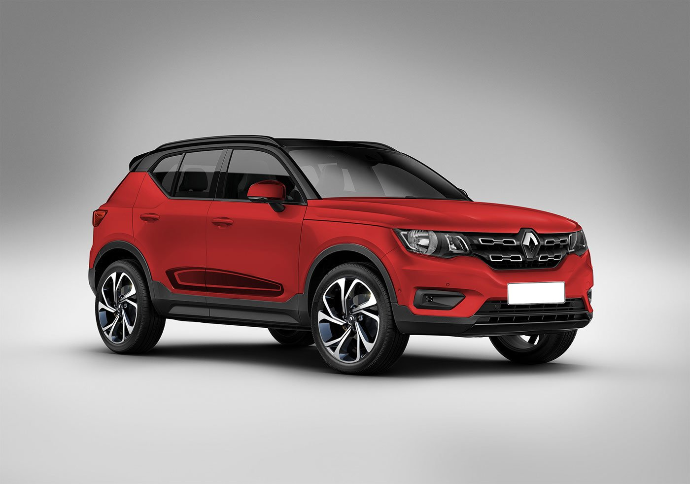 renault kwid compact suv rendered to compete with vitara brezza. Black Bedroom Furniture Sets. Home Design Ideas