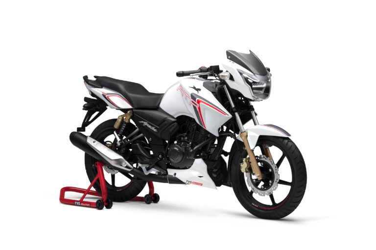 TVS Apache RTR 180 Race Edition Launched, Gets New Graphics