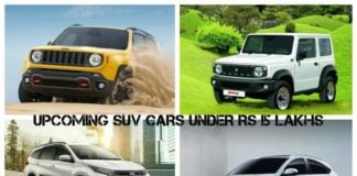 Upcoming SUv cars under Rs 15 Lakhs image
