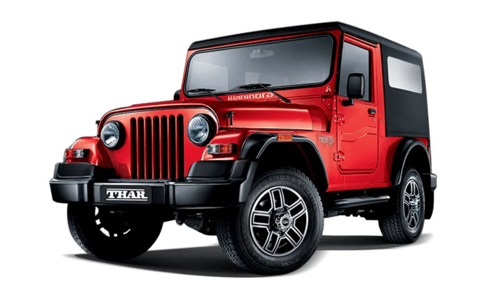 Mahindra Thar Signature Edition – limited to 700 units