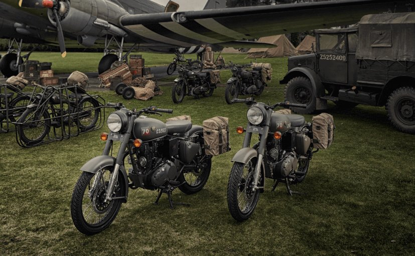 Royal Enfield Classic 500 Pegasus Edition Launched