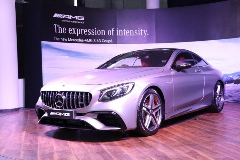 Mercedes-AMG S 63 Coupe Launched In India; Priced At Rs 2.55 Crore