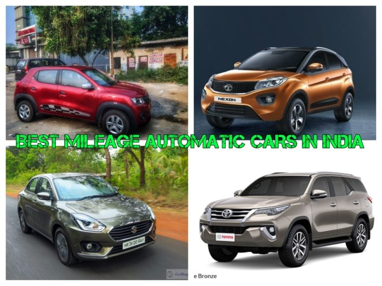 Best Mileage Automatic Cars In India: Maruti Dzire, Tata Nexon, Renault Duster & Other
